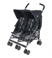 Коляска для двойни Maclaren Twin Triumph Black/Charcoal WSE12012